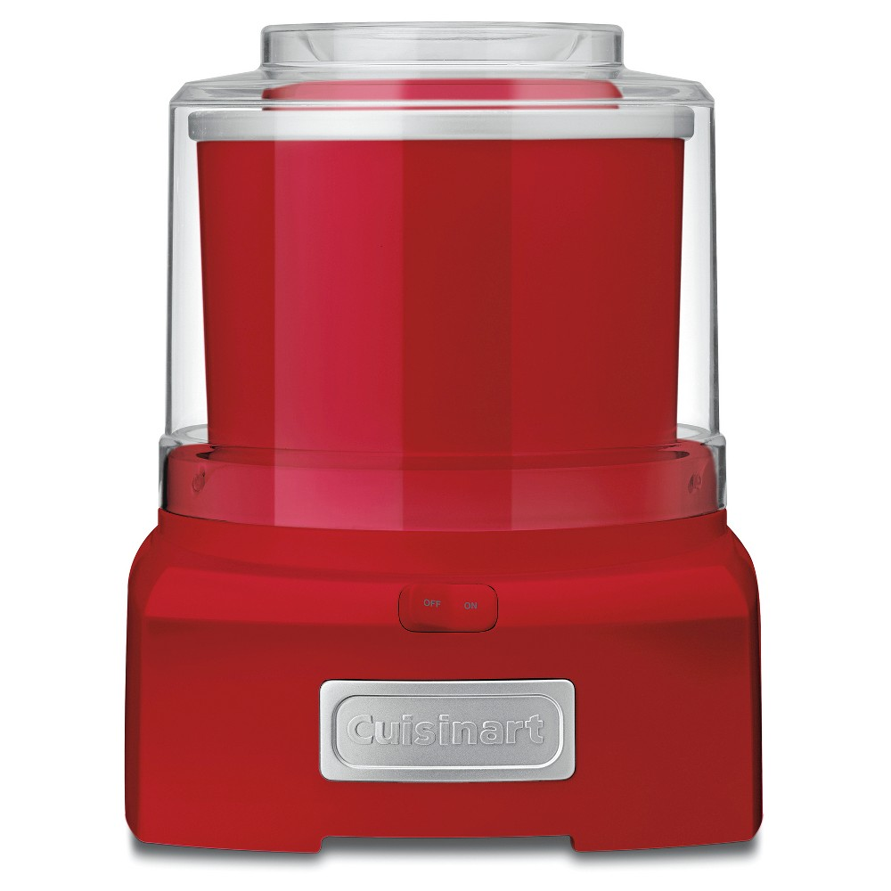 Cuisinart Automatic Frozen Yogurt & Ice Cream Maker – Red Ice-21R 51234574