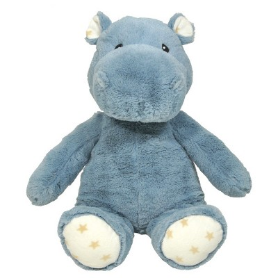 Cloud b Hugginz Hippo Infant Soft And Plush Toy - Gray
