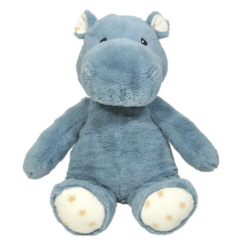 Cloud b Hugginz Hippo Infant Soft And Plush Toy - Gray - image 1 of 2