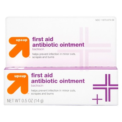 Bacitracin Antibiotic First Aid Ointment - 0.5oz - up & up™