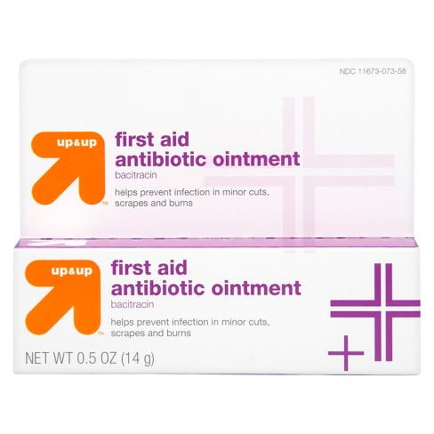 Bacitracin Antibiotic First Aid Ointment - 0.5oz - Up&Up™ - image 1 of 4