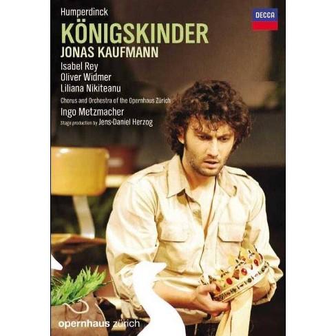 Kaufmann / Zurich / Humperdinck: Konigskinder (DVD) - image 1 of 1