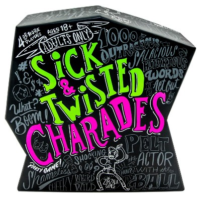 Sick & Twisted Charades Board Game