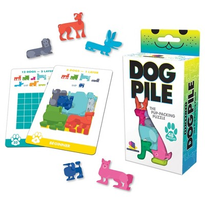 Dog Pile, The Pup Packing Puzzle 48pc