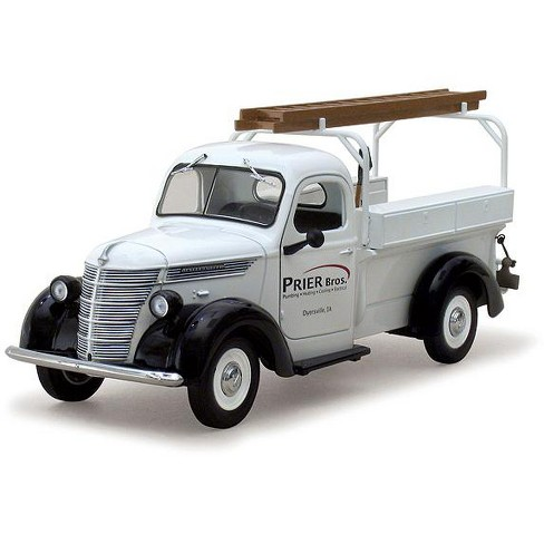 1938 International Prier Brothers D 2 Utility Pickup Truck 1 25 Cast Model By First Gear Target