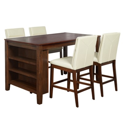 Keaton 5pc Counter Height Dining Set   Buylateral