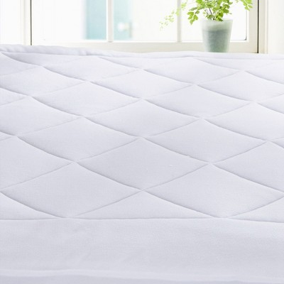 Puredown White Fleece Top Down Alternative Mattress Pad