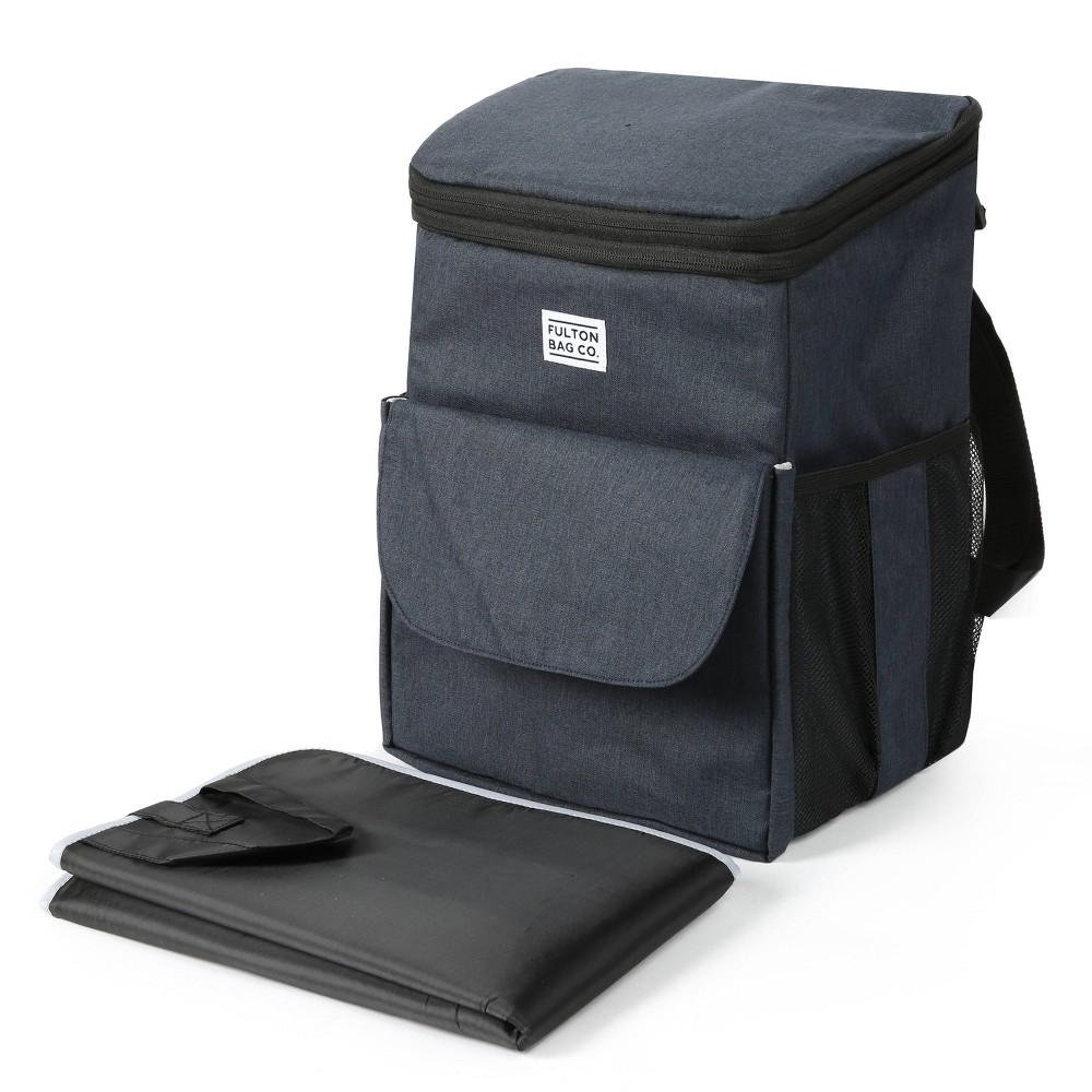 Fulton Bag Co Backpack With Jumpsack Navy