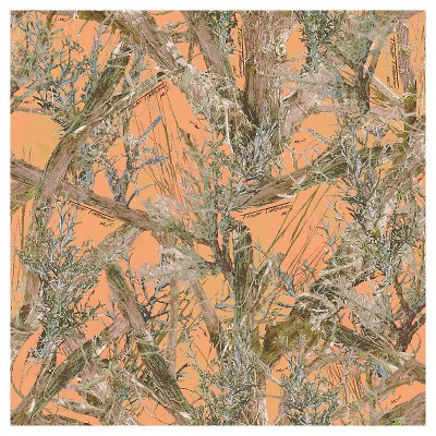 "True Timber Camo Couture Mc2, Gold, Bridal Satin, 57/58"" Width, Fabric by the Yard"
