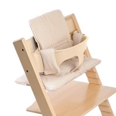 Stokke Tripp Trapp Classic High Chair Cushion - Beige Stripes