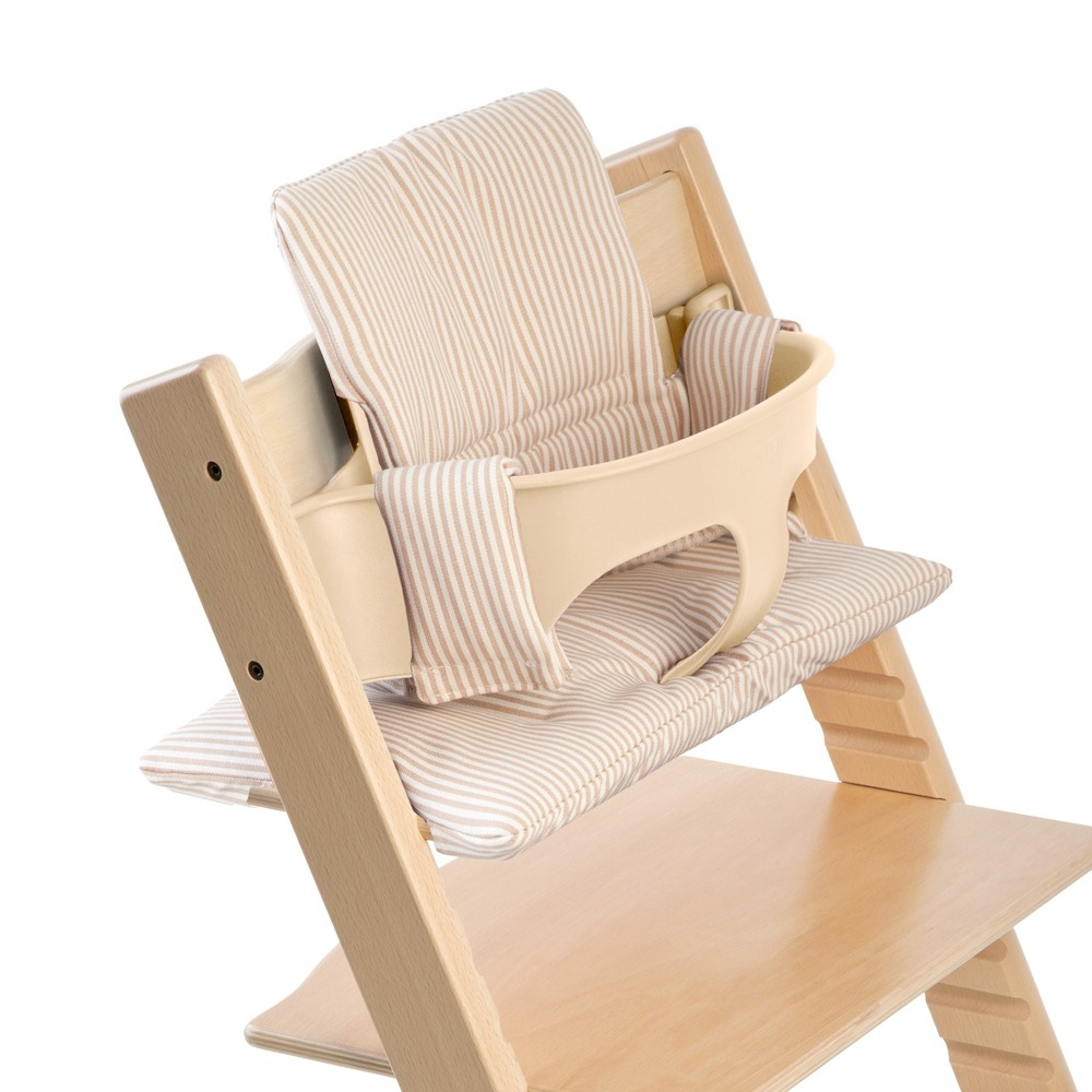Stokke Tripp Trapp Classic High Chair Cushion - Beige Stripes