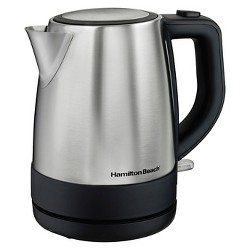 Hamilton Beach 1L Electric Kettle - Stainless 40978