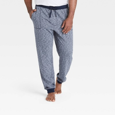 Men's Big & Tall Double Weave Jogger Pajama Pants - Goodfellow & Co™ Olive