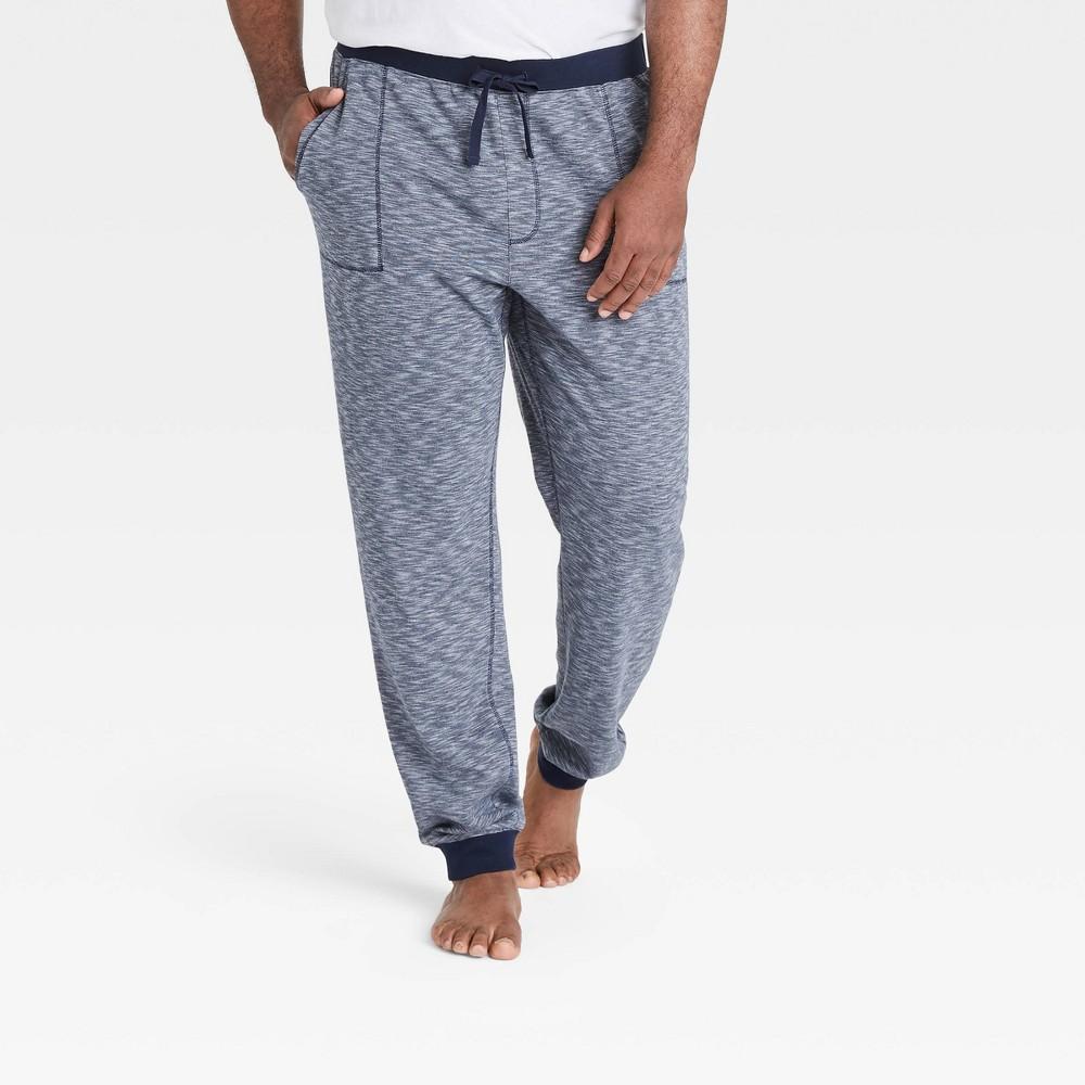 Men 39 S Tall Double Weave Jogger Pajama Pants Goodfellow 38 Co 8482 Fighter Pilot Blue Mt
