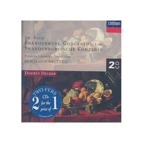 Bach - Bach: Brandenburg Ctos (CD) - image 1 of 1