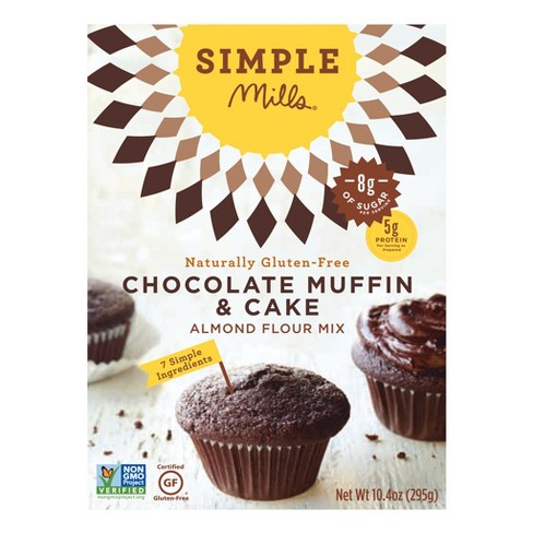 Simple Mills Chocolate Muffin & Cake Almond Flour Mix - 10.4oz - image 1 of 4