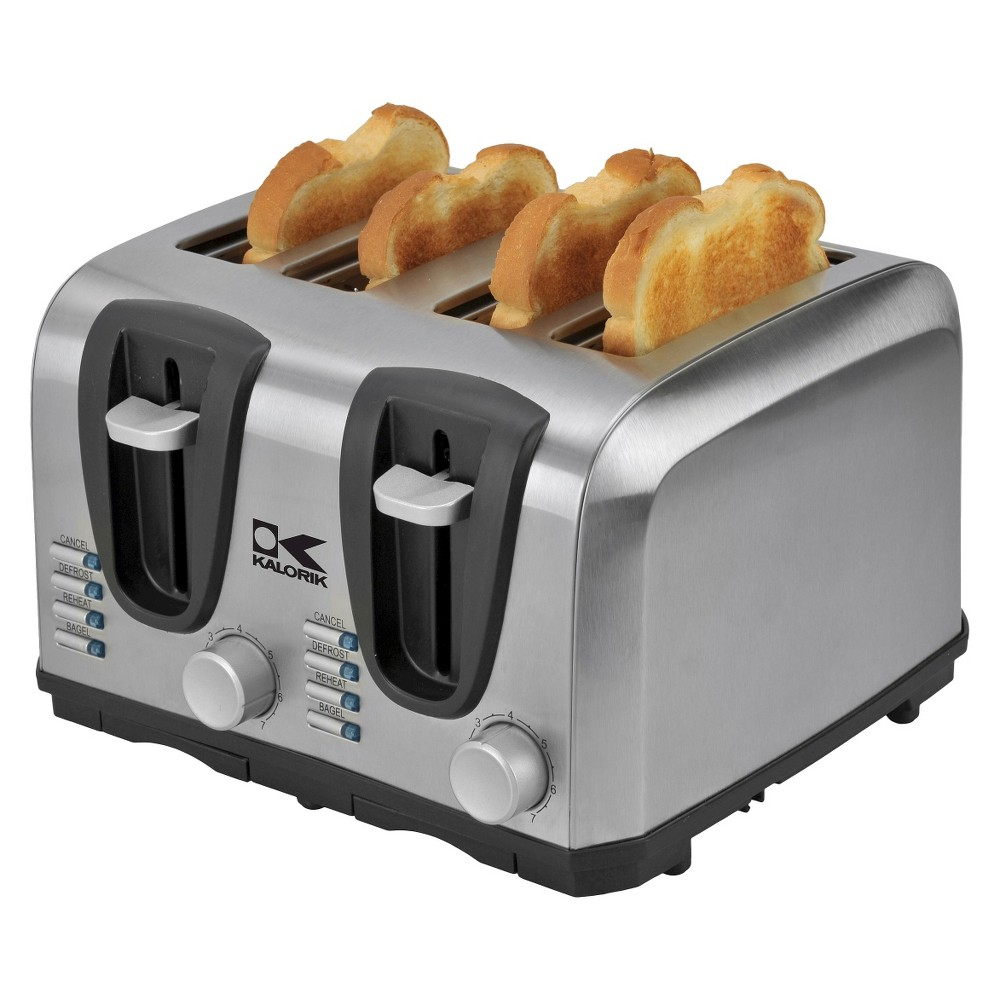 Kalorik 4-Slice Toaster - Stainless Steel