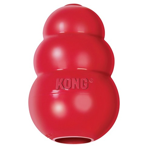 KONG Refillable Classic Chew Dog Toy - Red - image 1 of 4