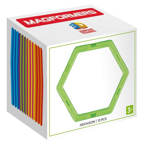 Magformers Hexagon Building Set - 12pc - image 1 of 2