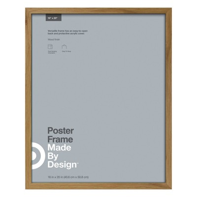 16  x 20  Poster Frame Oak - Made By Design™