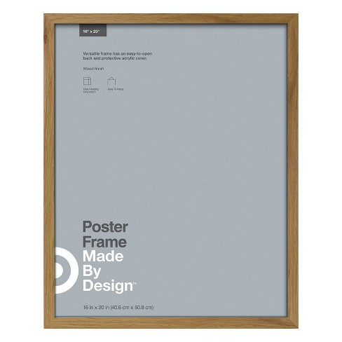 """16"""" x 20"""" Poster Frame Oak - Made By Design™ - image 1 of 4"""