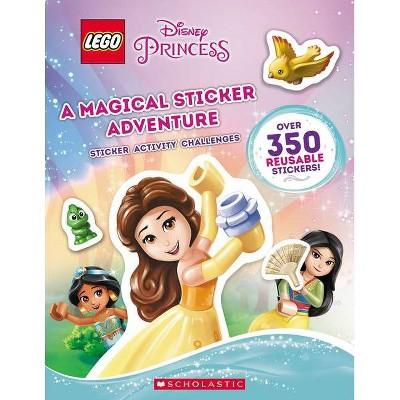 A Magical Sticker Adventure (Lego Disney Princess: Sticker Activity Book) - by  Ameet Studio (Hardcover)