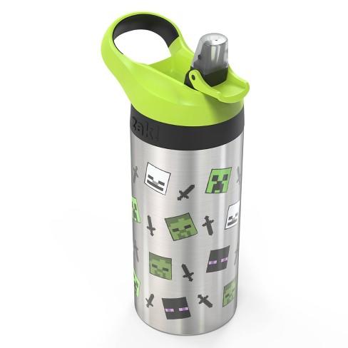 Minecraft 19oz Stainless Steel Water Bottle - Zak Designs - image 1 of 5