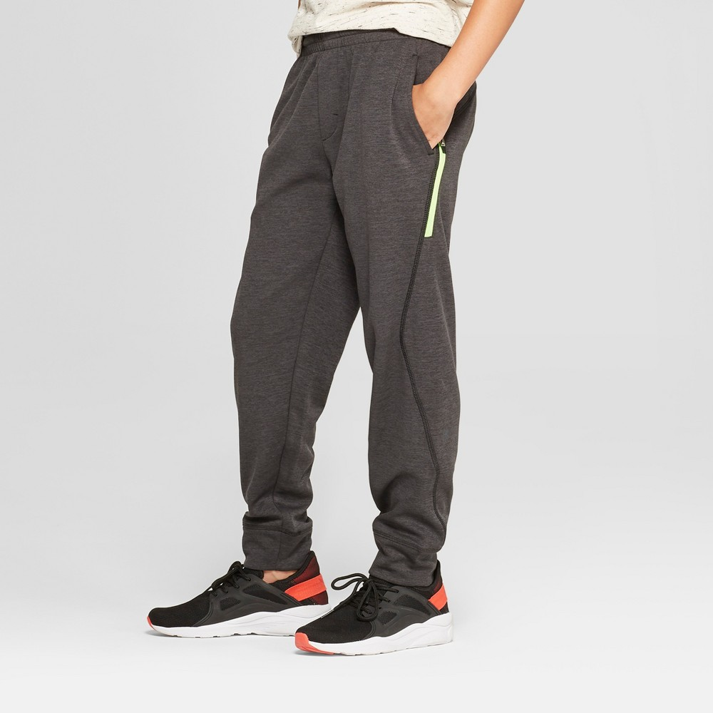 Image of Boys' Jogger Pants - C9 Champion Black Heather S, Boy's, Size: Small, Black Grey