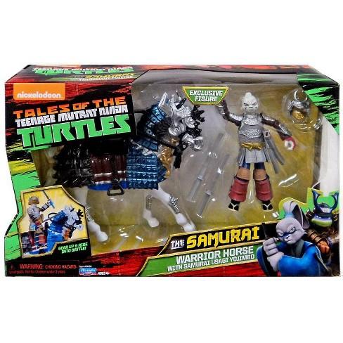 Teenage Mutant Ninja Turtles Tales of the TMNT The Samurai Warrior Horse with Samurai Usagi Yojimbo Action Figure - image 1 of 1