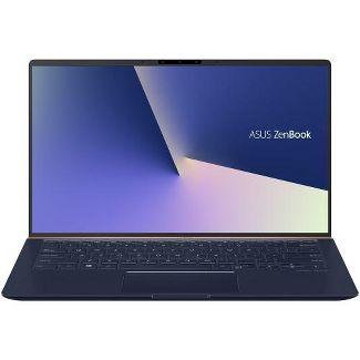 """ASUS ZenBook 14"""" Laptop i7-8565U 16GB RAM 512GB SSD Royal Blue - 8th Gen Intel Core i7-8565U Quad-core - 4-way Nano-edge bezel Display"""