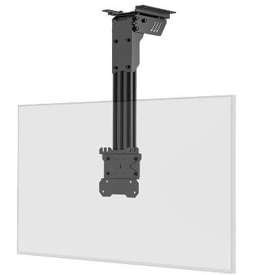 Monoprice Folding Ceiling TV Mount For TVs 10in to 40in, Max Weight 66lbs., Max Extension 15.7in, VESA Patterns up to 100x100 - Commercial Series