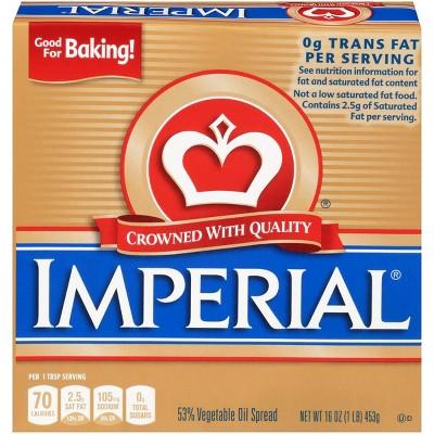 Imperial Quarter Vegetable Oil Spread - 16oz