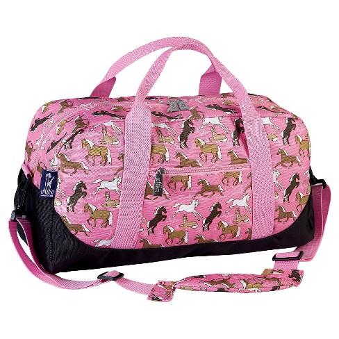 WildKin Duffel Bag - Horses in Pink - image 1 of 1