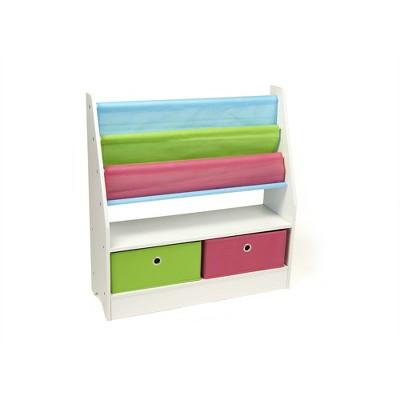 Mind Reader Kids Toy Storage Organizer with Folding Drawers