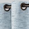 Diamond Weave Window Curtain Panel - Threshold™ - image 3 of 4