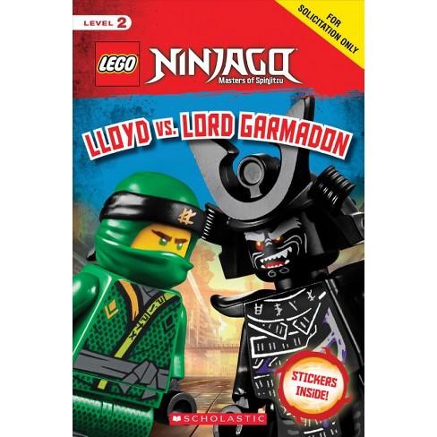 Lego Ninjago Masters Of Spinjitzu 18 Lloyd Vs Lord Garmadon By