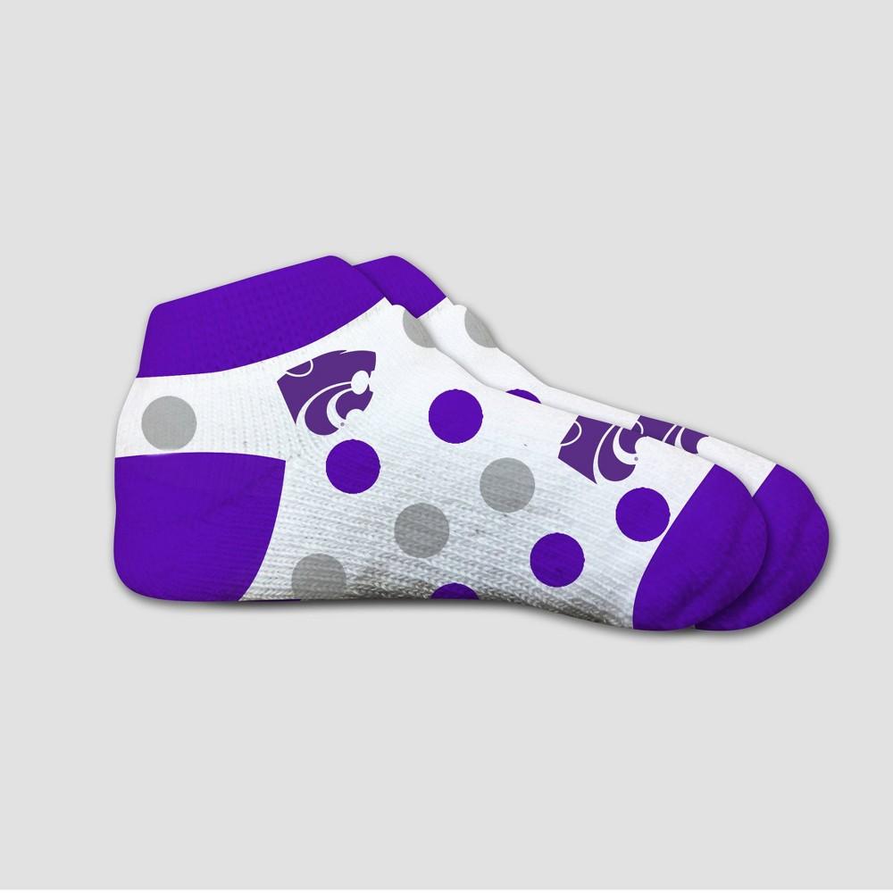 NCAA Kansas State Wildcats Polka Dot Infant Socks 2T-4T, Infant Unisex