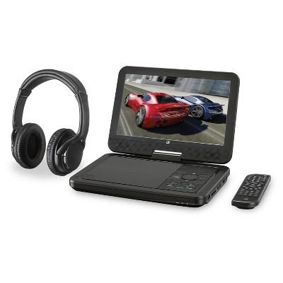 "GPX Portable DVD Player 10"" TFT BT"