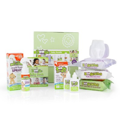 Boogie Wipes Baby Bundle Gift Set - 7pc