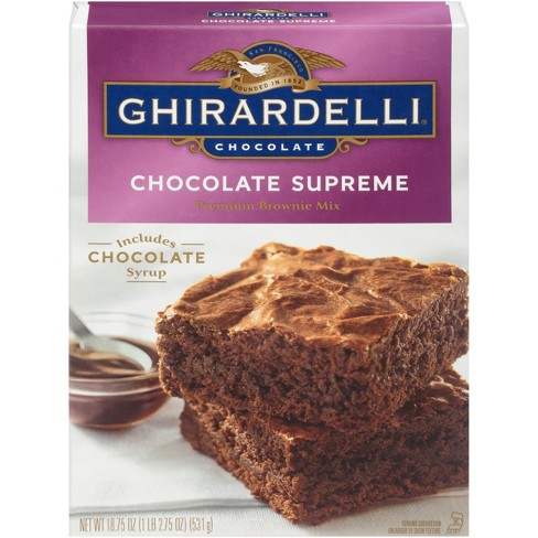 Ghirardelli Chocolate Supreme Brownie Mix - 18.75oz - image 1 of 3