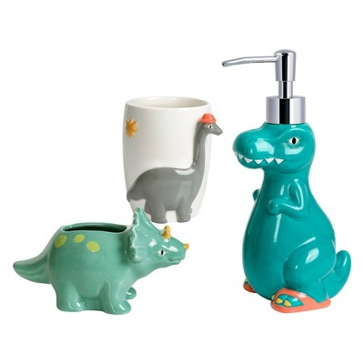 3pc Dinosaur Bath Set with Tumbler - Allure Home Creations