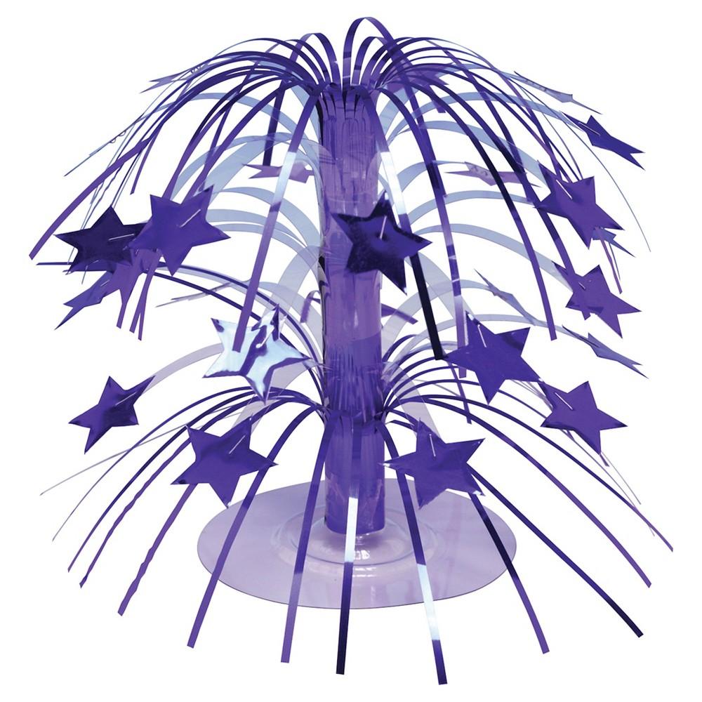 1ct Purple Cascading Centerpiece