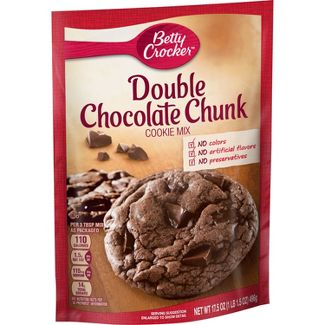 Betty Crocker Double Chocolate Chip Cookie Mix - 17.5oz