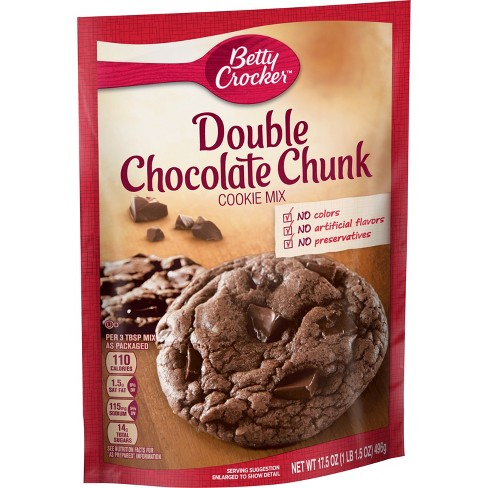 Betty Crocker Double Chocolate Chip Cookie Mix 17 5oz Target
