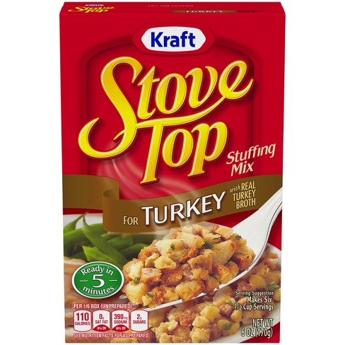 Stove Top Stuffing Mix for Turkey - 6oz - image 1 of 3