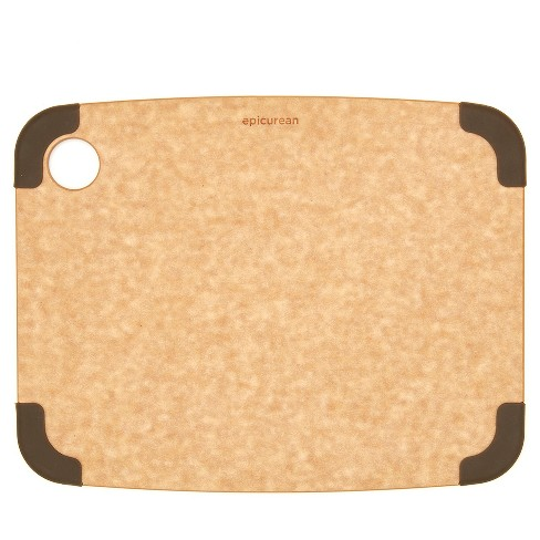 Epicurean 11.5x9 Non-Slip Cutting Board Natural/Brown - image 1 of 4