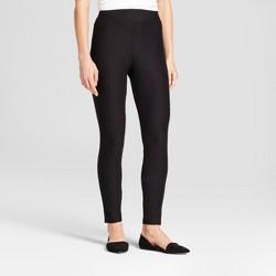 8546247e2ef7a7 Women's High Waist Cotton Blend Seamless Leggings - A New Day™ Black ·  $18.00