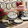 70th Birthday Party Supplies Kit Black/Gold - image 2 of 2