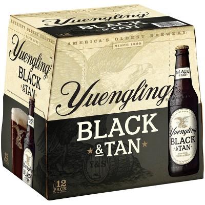 Yuengling Black & Tan Beer - 12pk/12 fl oz Bottles