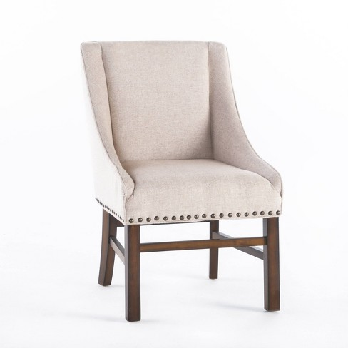 James Dining Chair Natural Walnut Christopher Knight Home Target